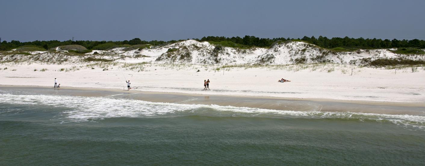 st andrews shore line